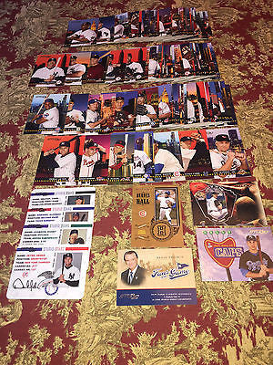2004 Donruss Studio Baseball Stars 115 Card Lot Jeter,Ford,Ripken,Spahn,Musial-Freeshipping