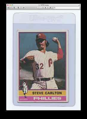 1976 Topps #355 Steve Carlton-Phillies