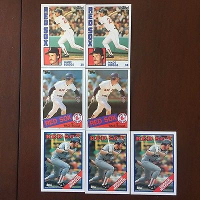 1985 Topps #350 Wade Boggs - Red Sox