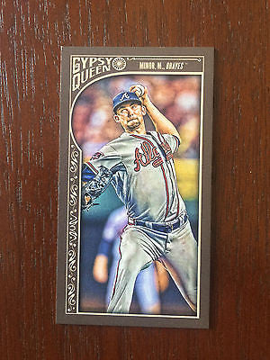 2015 Topps Gypsy Queen Mini #270 Mike Minor Braves