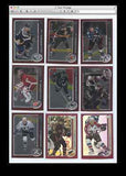 2003 Topps Chrome Hockey - 95 Card Lot - 5 Patrick Roy - 10 Rookie cards