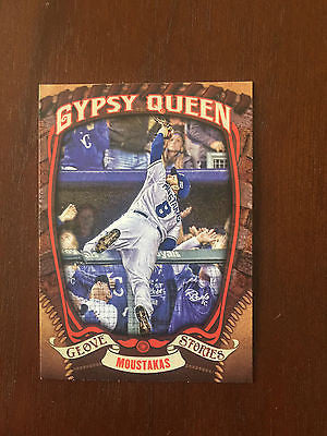 2015 Topps Gypsy Queen Glove Stories #GS15 Mike Moustakas - Royals