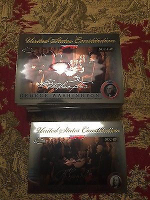 2006 Topps Chrome United States Constitution #GB Gunning Bedford Jr.