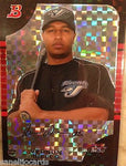 2005 Bowman Chrome X-Fractors #63 Vernon Wells - Blue Jays 067/225