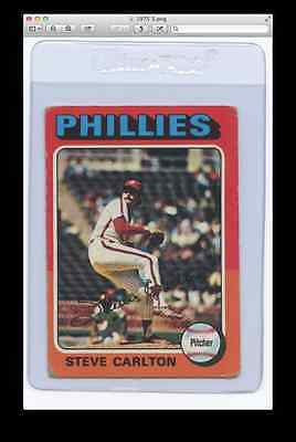 1975 Topps #185 Steve Carlton-Phillies