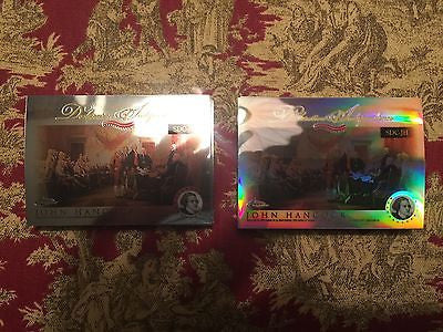 2006 Topps Chrome Declaration of Independence Refractors #RS Roger Sherman