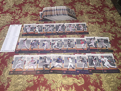 2003 Fleer Genuine Baseball Complete Set 1-100 Loaded with Stars-Checklist Inside Free Shipping