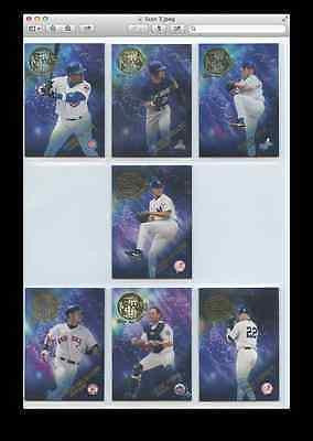 2002 Topps All-World Team Insert Set
