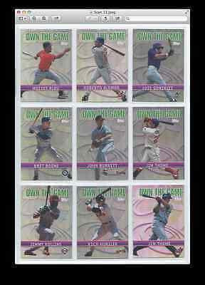 2002 Topps Own the Game
