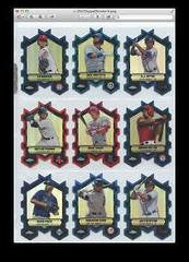 2013 Topps Chrome Chrome Connections Die Cuts - Singles