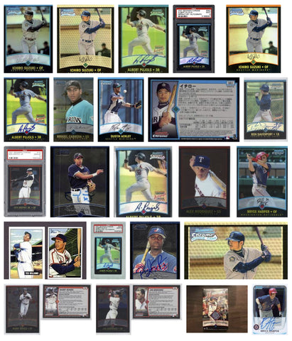 2001 Bowman Chrome - 1-250 Singles