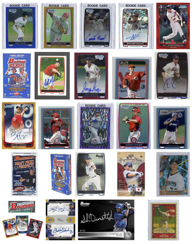 2012 Bowman Chrome Draft Draft Picks (BDDP) - Singles 1-85