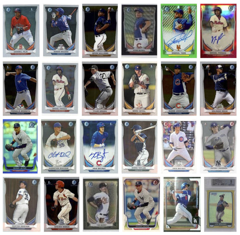 2014 Bowman Chrome Prospects (BCP) Series 1 Singles 56-110