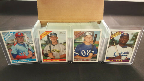 2015 Complete Topps HERITAGE MINOR SET *** (225) Cards #1-225 ALL (25) SPs MINT