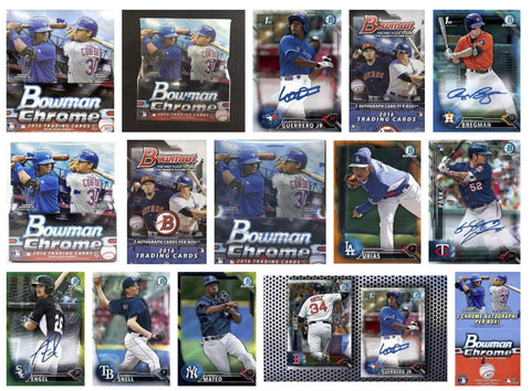 2016 Bowman Chrome Draft (BDC) - Singles