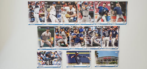 2019 Topps Series 2 Team Set San Diego Padres (14 Cards)