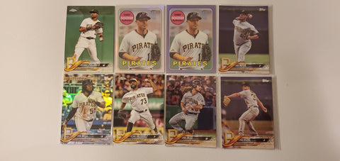 2018 Topps Chrome,Purple,Heritage,Foil 28 Card Lot - Pirates