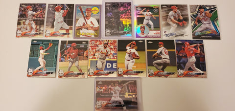 2018 Topps Chrome,Purple,B&W RC's 38 Card Lot  - Cardinals