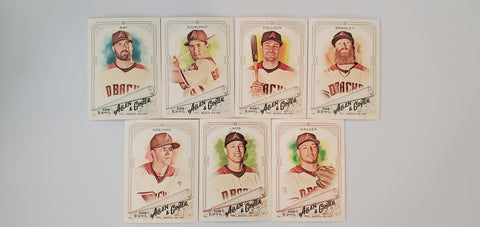 2018 Topps Allen & Ginter Team Set - Diamondbacks (7 Cards)