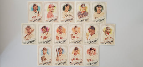 2018 Topps Allen & Ginter Team Set SP's - Red Sox (15 Cards)