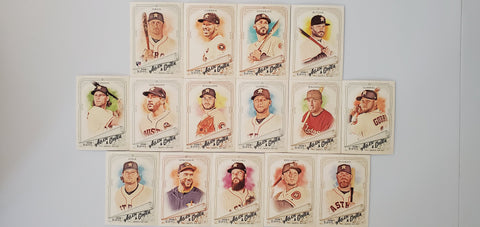 2018 Topps Allen & Ginter Team Set - Astros (15 Cards)