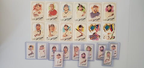 2018 Topps Allen & Ginter Team Lot Minis/SP's  - Astros (23 Cards) LOADED