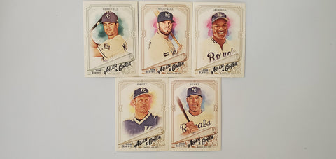 2018 Topps Allen & Ginter Team Set - Royals (5 Cards)