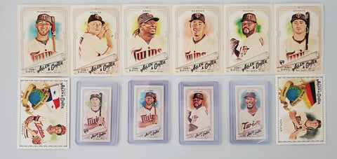 2018 Topps Allen & Ginter Team Lot Minis/SP's - Twins (12 Cards)