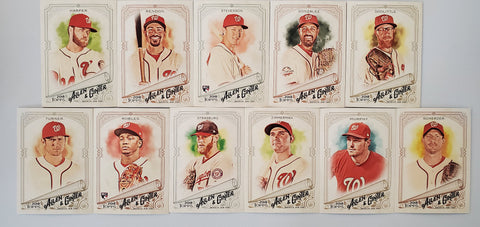 2018 Topps Allen & Ginter Team Set - Nationals (12 Cards) Robles RC