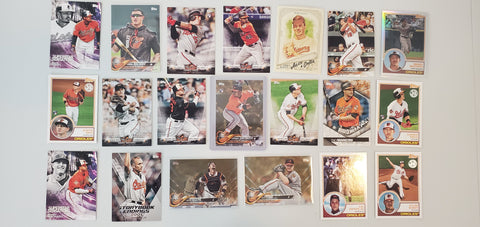 2018 Topps Team Lot of 20 RC/Variation - Orioles