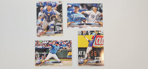 2018 Topps Update Team Set - Kansas City Royals (4 Cards)