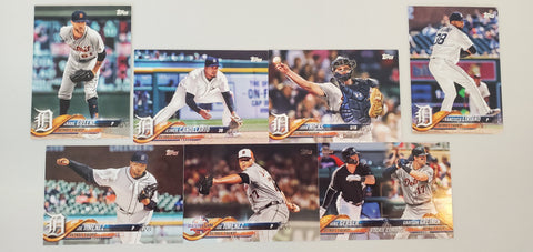 2018 Topps Series Update Team Set - Detroit Tigers (7 Cards)