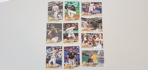 2018 Topps Series Update Team Set - Pittsburgh Pirates (10 Cards)