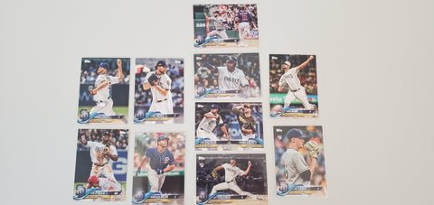 2018 Topps Series Update Team Set - San Diego Padres (10 Cards)