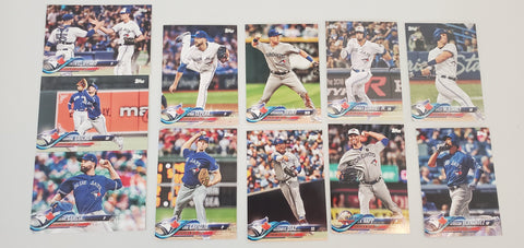 2018 Topps Series Update Team Set - Toronto Blue Jays (11 Cards)