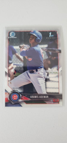 2018 Bowman Chrome Prospects Series 2 Chicago Cubs Singles