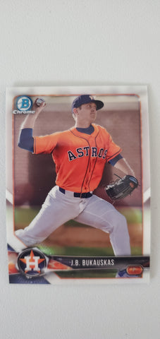 2018 Bowman Chrome Prospects Series 1 Houston Astros Singles