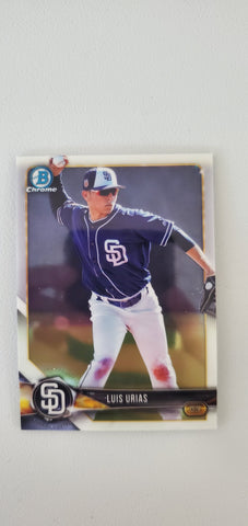 2018 Bowman Chrome Prospects Series 2 San Diego Padres Singles