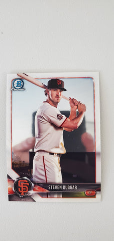 2018 Bowman Chrome Prospects Series 1 San Francisco Giants Singles