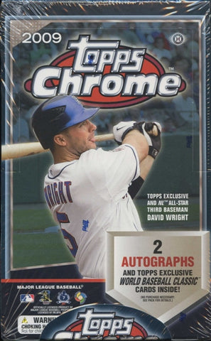 2009 Topps Chrome Refractors - Baseball