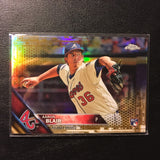 2016 Topps Chrome Gold Refractors #196 Aaron Blair 46/50