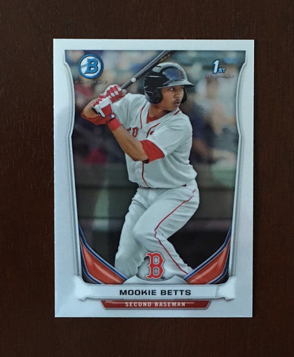 2014 Bowman Chrome Prospects (BCP) Series 1 Complete Set 1-110  Betts - DeGrom - Bryant