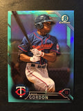 2016 Bowman Chrome Draft Sky Blue Refractors #BDC122 Nick Gordon