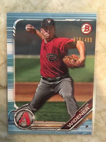 2019 Bowman Prospects Sky Blue /499