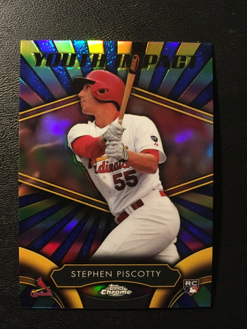 2016 Topps Chrome Youth Impact #YI14 Stephen Piscotty