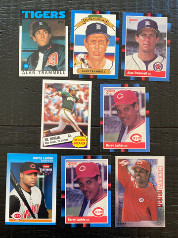 HOF Middle Infield lot of 8