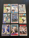 Yaz & Boggs Lot of 9