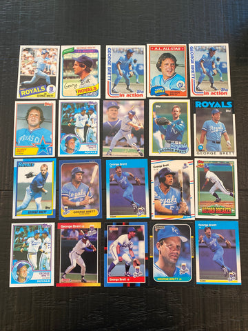 George Brett Lot of 20