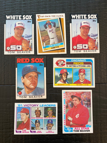 Tom Seaver Lot of 7