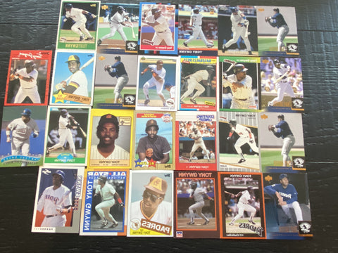 Tony Gwynn lot of 26 - Padres